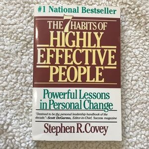 The 7 Habits of Highly Effective People by Covey